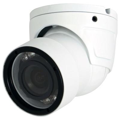 Speco 960H Weather Resistant Mini Dome/Turret Color Camera, 700TV, 3.6mm, White
