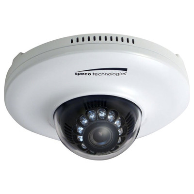 Speco 1080p Indoor 2MP Mini Dome IP Camera, 3.7mm
