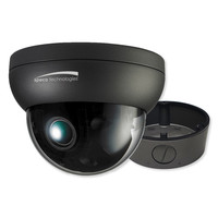 Speco 2MP Intensifier IP Dome Camera with Junction Box, 2.7-12mm Motorized Lens