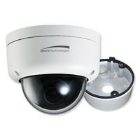 Speco 2MP Ultra Intensifier Dome IP Camera, 3.6mm Lens With Junction Box