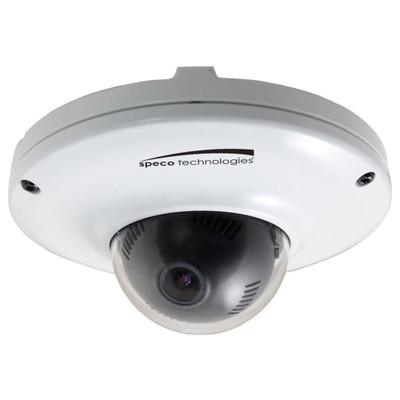 Speco 1080p Indoor/Outdoor Mini Dome IP Camera, 2.9mm, White