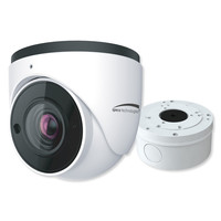 Speco 2MP H.265 IP Turret Camera with Analytics and Junction Box