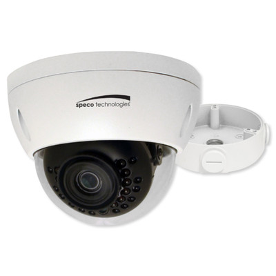 Speco 3 Megapixel Dome IP Camera, 2.8mm, White