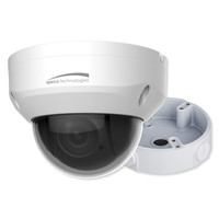 Speco 4MP Mini-PTZ IP Camera with Junction Box, 2.7-11mm 4x Optical Zoom Lens