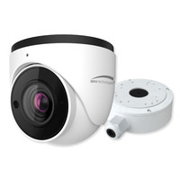 Speco 4MP H.256 Turret IP Camera With Advanced Analytics, 2.8-12mm Motorized Lens