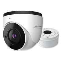 Speco H.265 Turret IP Camera with Advance Analytics, 4MP, 2.8mm