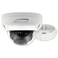 Speco 2MP Multi-Format HD Analog Dome Camera, 2.8mm Lens With Junction Box