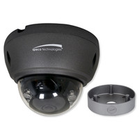 Speco 4MP HD-TVI IR Dome Camera, 2.8mm Lens With Junction Box