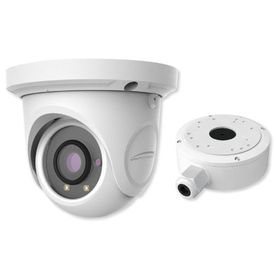 Speco 2MP HD-TVI IR Turret Camera, 2.8mm Lens with Junction Box