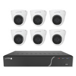 Speco Zip Kit: 8-Channel NVR With 6 Dome Cameras