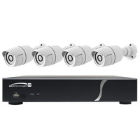 Speco HD-TVI Kit: 4-Channel Digital Video Recorder (DVR) with 4 Bullet Cameras