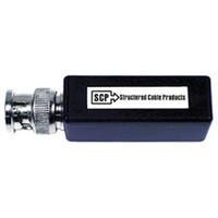 SCP Miniature Passive Video Balun