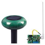 STI Wireless Driveway Monitor Kit with Single Slave Receiver, Solar Powered