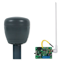 STI Wireless Driveway Monitor Kit with Single Slave Receiver, Battery Powered