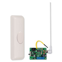 STI Wireless Doorbell Button Alert with Single Slave Receiver