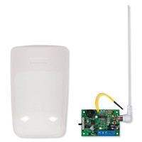STI Wireless Indoor Motion Detector with Single Slave Receiver