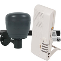 STI Wireless Driveway Monitor Kit with Voice Receiver, Battery Powered