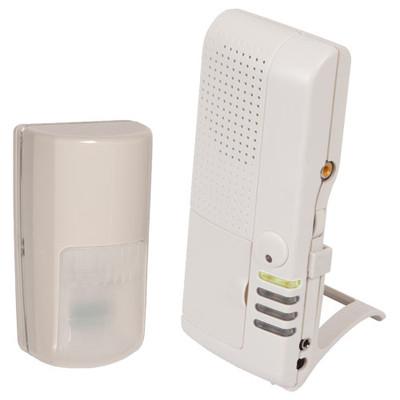 STI Wireless Outdoor Motion Detector Alert with Voice Receiver