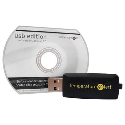 TemperatureAlert USB Temperature Monitor System
