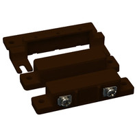 USP Surface-Mount Contact with Cover & Spacer, 1 In. Gap, CC, Brown