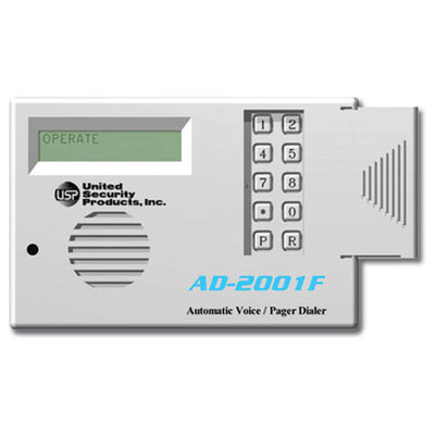 USP Automatic Voice Dialer, 2 Messages (24VDC)