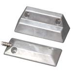 USP Mini Overhead Door Magnetic Contact, Angled, Closed Loop