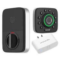 Ultraloq U-Bolt Pro Deadbolt Smart Lock with Bridge Wi-Fi Adapter
