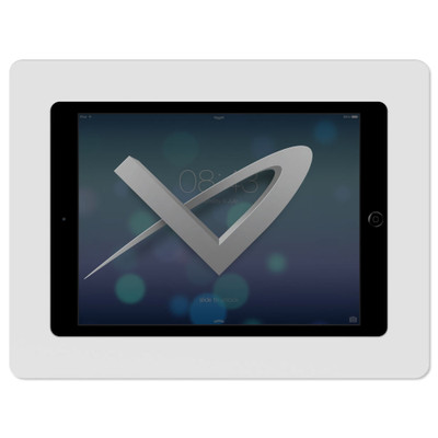 VidaMount Slim On-Wall Tablet Mount for iPad Air 1 & 2, White