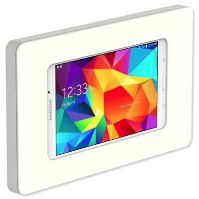 VidaMount Slim On-Wall Tablet Mount for Galaxy Tab 4 7.0, White