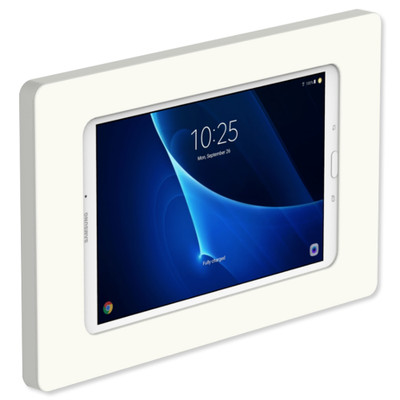 VidaMount Slim On-Wall Tablet Mount for Galaxy Tab A 10.1, White