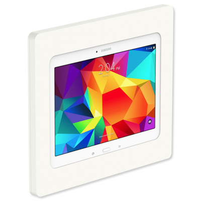 VidaMount VESA Fixed Tablet Mount for Galaxy Tab 4 10.1, White