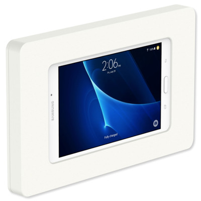 VidaMount VESA Fixed Tablet Mount for Galaxy Tab A 7.0, White