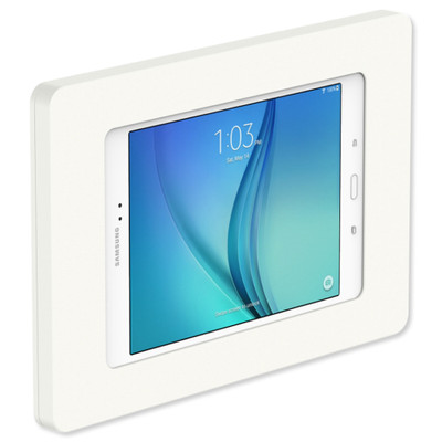 VidaMount VESA Fixed Tablet Mount for Galaxy Tab A 8.0, White
