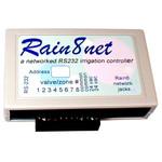 WGL Rain8net+ RS232 Sprinkler Main Controller, 8 Zones