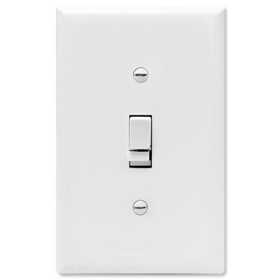 X10 PRO Soft Start Dimmer Wall Switch, White