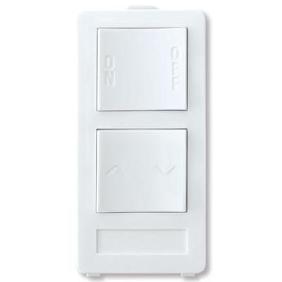 X10 PRO 2-Button Keypad (1-Address/1-Dimmer), White