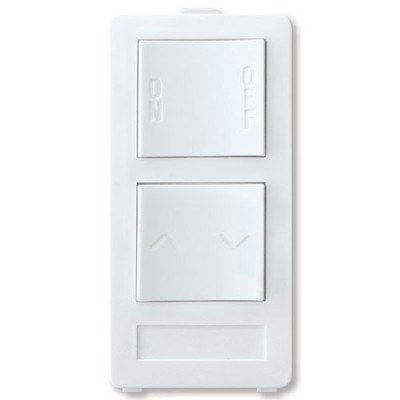 X10 PRO 2-Button Keypad (1-Address/1-Dimmer), White