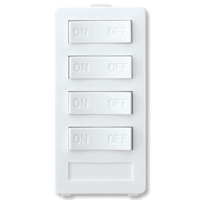 X10 PRO 4-Button Keypad (4 Address), White