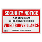 X10 Security Yard Sign