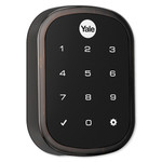 Yale SL Key Free Touchscreen Deadbolt Assure Lock, Connected by August, Oil Rubbed Bronze