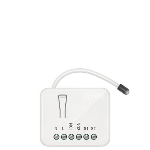Zipato Z-Wave Micro Module Switch Double